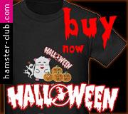 Hamster Halloween T-shirts