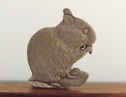 Hamster Pewter Magnet